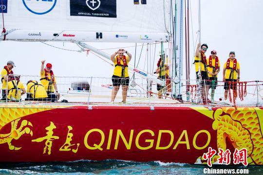 青岛号帆船将回归母港山东青岛万达游艇会 克利伯三亚站组委会供图