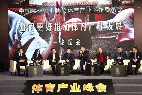 体育产业峰会嘉宾座谈
