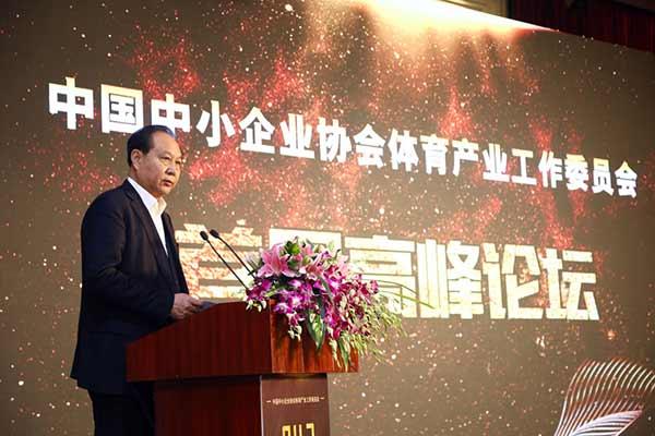 中国中小企业协会执行会长-张竞强