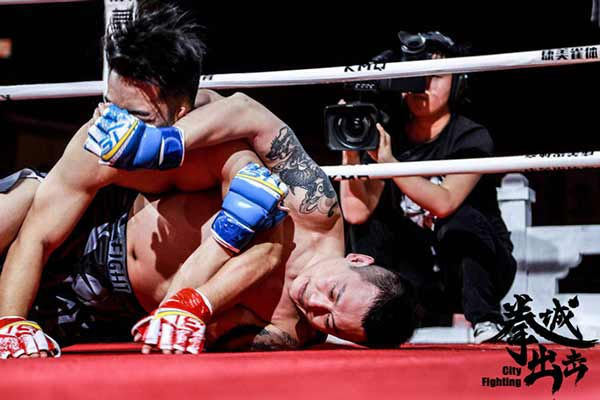 MMA-66-70KG-张鹏(红方)vs解放(蓝方)