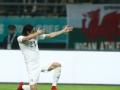 卡瓦尼建功苏神两中柱 乌拉圭1-0威尔士捧中国杯