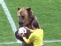不愧是战斗的民族!俄罗斯联赛上演熊出没