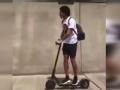 帕托带权健三外援骑电动滑板 被天津交警点名了