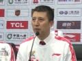 郭士强:辽篮夺冠创历史 感谢团队和优秀的球员