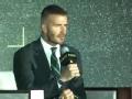 G-EXPO世界足球峰会 贝克汉姆领衔众星分享世界杯记忆