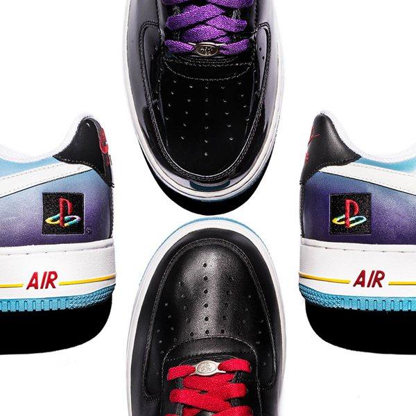 预示回归? Nike回顾AF1 x Playstation设计故事