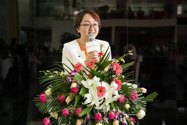 比亚迪汽车销售有限公司副总经理熊甜波女士致辞