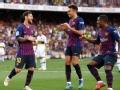 梅西破门马尔科姆建功 甘伯杯巴萨3-0博卡青年