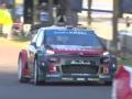 WRC德国站SSS1赛段 OSTBERG表现激进但成绩不佳
