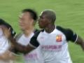 拉斐尔直塞埃弗拉弧线球建功 深圳佳兆业2-2武汉卓尔
