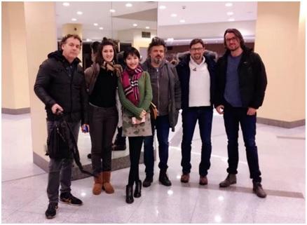 2016年11月,拜访舞美大师乔治・西平 ( George TLotusLeesypin)