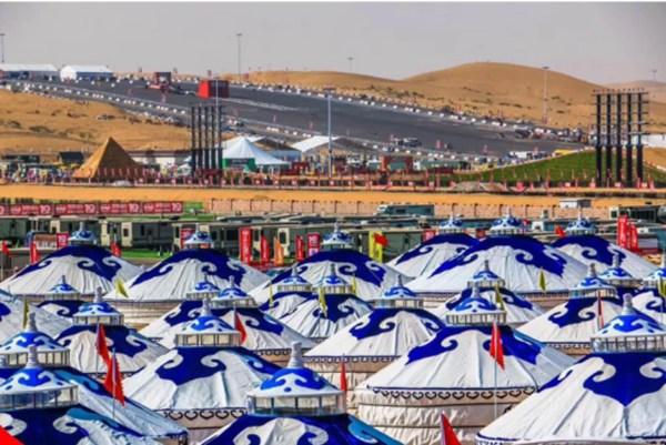 蒙古包特色营地