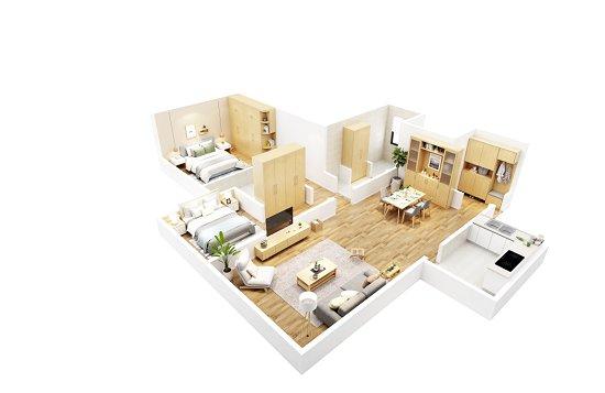 美窝推高端设计师品牌住森家居 玩转全屋定制百变空间