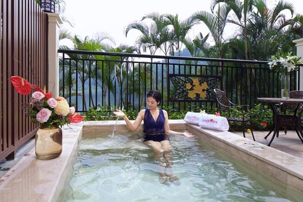 东莞温泉被发现 塘厦三正半山温泉酒店产品升级
