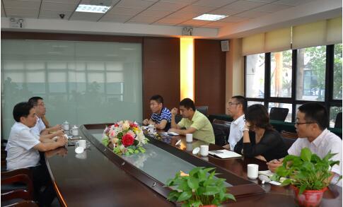 无锡市金融办调研江苏太湖国际商品交易中心