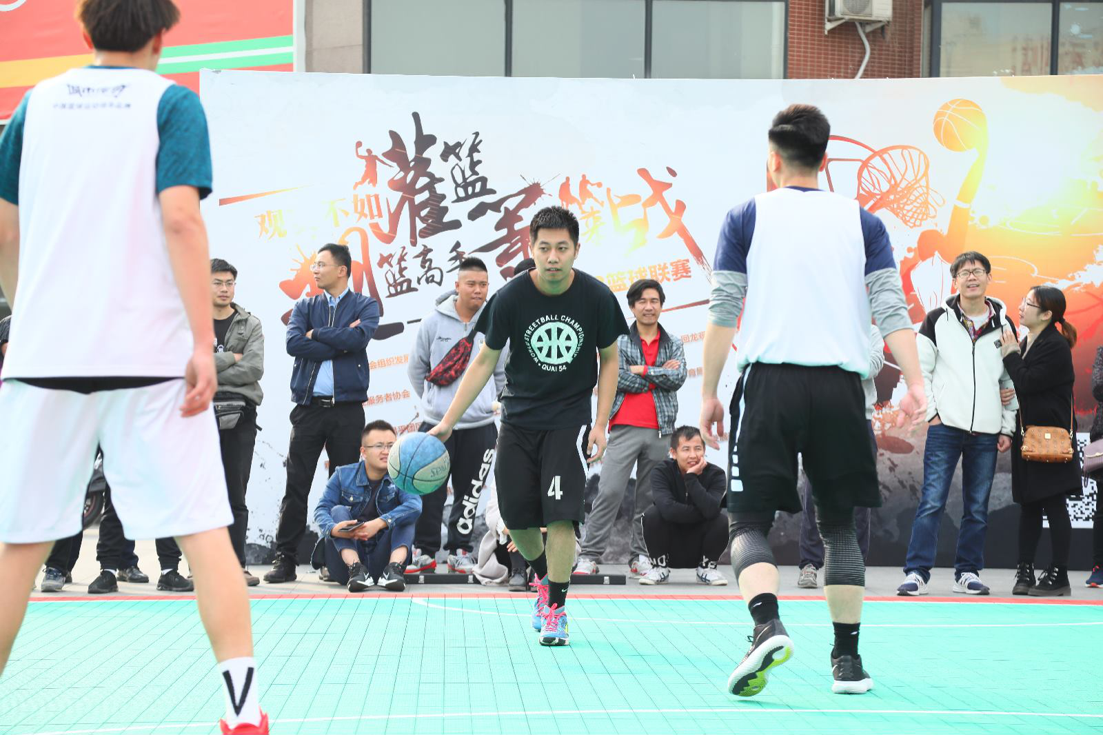 观篮高手3V3联赛闭幕回龙观社区全民健身新名片