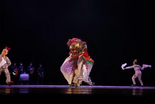 北京舞蹈学院《牛王舞》