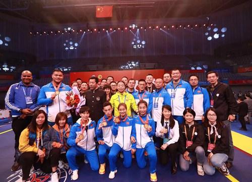第九届世界杯武术散打比赛杭州落幕