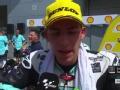 Moto3马来西亚站正赛 采访季军Bastiannini