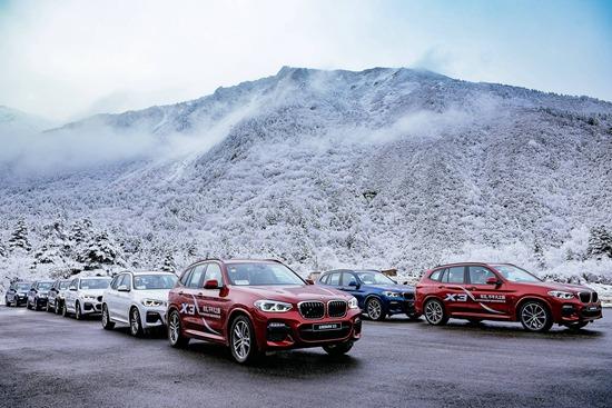 全新BMW X3车队挑战贡嘎北坡