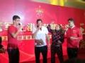 上港夺冠庆功仪式 巴西三外援联袂献唱葡萄牙语歌曲