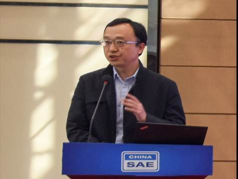 教育部职业技术教育中心研究所黄洋主旨发言