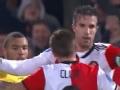 范佩西破门 荷甲补赛费耶诺德主场4-1大胜芬洛
