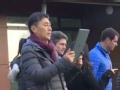 中国女足主帅贾秀全法国雷恩考察世界杯首战场地