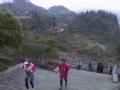 严冬挑战 千名跑者参加吉首矮寨大桥国际马拉松