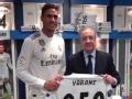 瓦拉内收获250场纪念版球衣 拉莫斯携队友送祝福