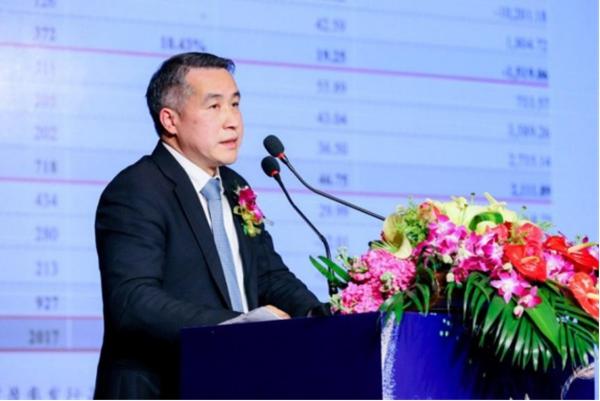 招商证券投行部董事总经理 凌江红 发表主题演讲
