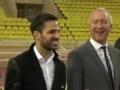 摩纳哥召开新援加盟发布会 法布雷加斯亮相