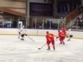 U20男子冰球世锦赛 中国冰球队获得丙级组冠军