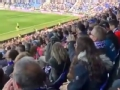 武磊用进球征服西班牙人球迷 现场唱响武磊之歌