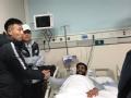 多拉多右腿骨折 秦升赛后第一时间前往医院道歉