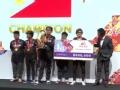 WESG全球总决赛DOTA2颁奖仪式 TNC夺冠KG遗憾摘银