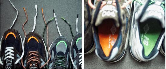 New Balance 990v2 X MADNESS鞋身细节
