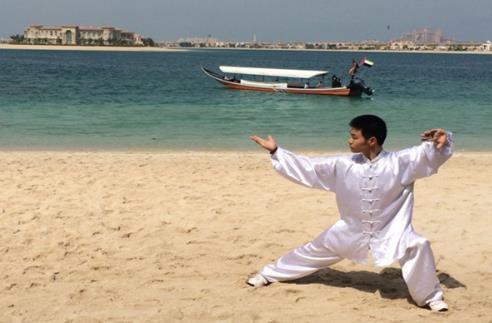 阿联酋功夫锦标赛侧记 迪拜公主的中国功夫师傅
