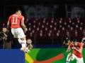 桑切斯头球破门维加斯双响 美洲杯智利4-0日本
