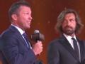 世界足球终身成就奖颁奖 马特乌斯卡恩等出席