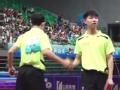 二青会:火力全开 乒乓球男双北京队夺冠