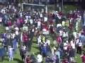 远离暴力珍爱和平 洪都拉斯球迷冲突致四人死亡