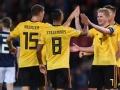 丁丁3传1射卢卡库传射 比利时4-0苏格兰6连胜领跑
