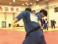 中国柔道队训练大混编 体能技术穿插进行