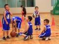 CBA全明星寄语篮球少年 篮球已成家长小朋友最爱运动