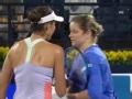 WTA迪拜赛 克里斯特尔斯复出首秀不敌穆古鲁萨