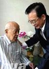 温总理20张便装照感动中国