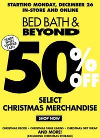 Bed,Bath and Beyond