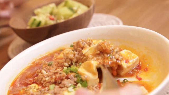 征服老公的胃 又美味又下饭的麻婆豆腐!