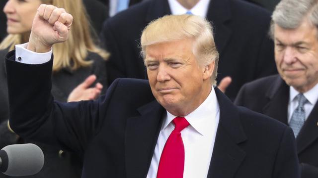 特朗普宣誓就任美国总统:重申美国优先原则
